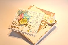 PasteLOVE card in a box  scrapbooking by Bluebell