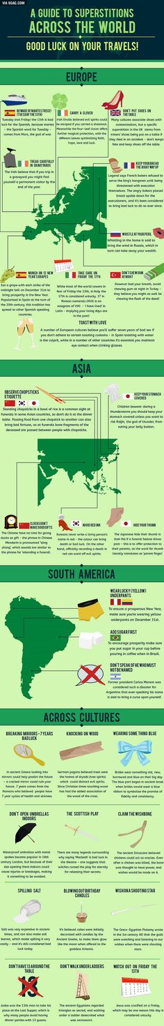 superstitions from around the world