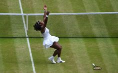 Williams not only matched Steffi Graf's number of major championships, but also avenged a loss to Angelique Kerber at the Australian Open final this year.
