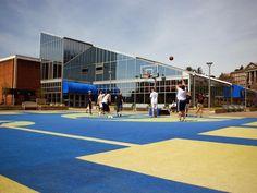 Basketball Court on Mountainlair Plaza
