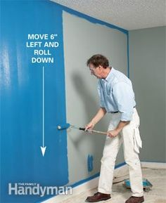 Painting: How to Paint a Room Fast - Article   The Family Handyman