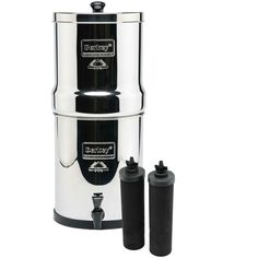 Royal Water Filter System 3 25 Gal with 2 Black Purifiers and 2 Fluoride