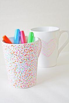 Dishwasher Safe Sharpie Mug DIY