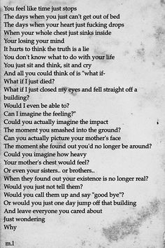 gah this is so true that it kinda hurts, but if i did do anything like this one person would know why