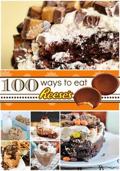 100 Ways to Eat a Reese's | www.somethingswanky.com