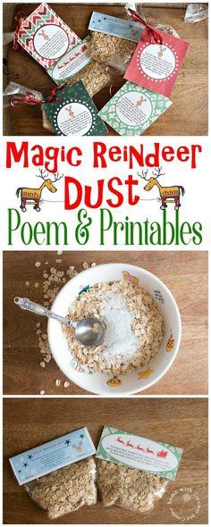 Magic reindeer food recipe and printable pinterest magic magic reindeer food poem with free printables forumfinder Gallery