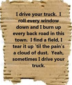 Lee Brice - I Drive Your Truck - song lyrics, song quotes, songs, music lyrics, music quotes, music
