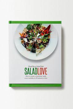 Anthropologie EU Salad Love
