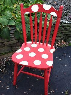 Cadeira com Pintura de Poás