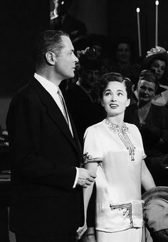 Robert Montgomery & Ann Blyth for Once More My Darling (1949)