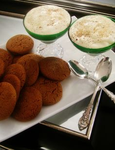Bourbon Mousse & Gingersnap Cookie