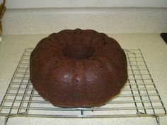 Doctored cake mix: Chocolate Pound Cake, This is so easy when you need a quick cake!