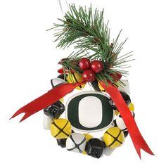 Oregon Ducks Wreath Ornament $16.99