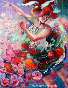 Et au beau milieu ... La vie ! by Faby Artiste