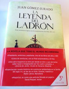 ¡Acaba de llegarme la tercera edición! Muchas gracias a todos por lo que estáis haciendo con esta novela...