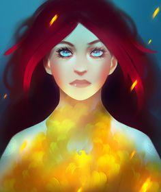 Young Jean Grey Phoenix (X-men Fanart)