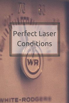 Here are some ways to maintain your laser and keep it running for years.