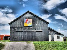 Kentucky Barn Quilt  by Betty Sue, via Flickr
