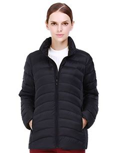 New Trending Outerwear: Puredown Womens Outdoor Ultra Light Packable Down Jacket, Black. Puredown Women's Outdoor Ultra Light Packable Down Jacket, Black  Special Offer: $44.99  455 Reviews Puredown Women's Outdoor Ultra Light Packable Down Jacket is filled with 90% white down. And it delivers ultimate lightweight warmth and heat retention, even when wet. Its...