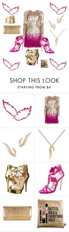 """""""Birds of A Feather......."""" by kerashawn ❤ liked on Polyvore featuring Matthew Williamson, Daou, GUESS, Oscar de la Renta, Jimmy Choo, Sephora Collection and Chupi"""