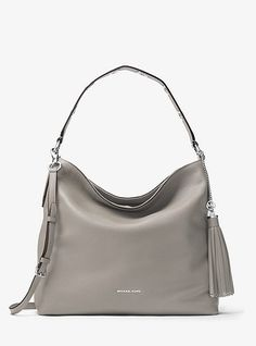 1a80a03589c09 Brooklyn Large Leather Shoulder Bag Michael Kors Sale