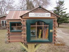 174 best images about Little Free Libraries on Pinterest