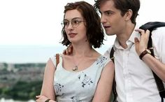 """[caption align=""""aligncenter"""" caption=""""Anne Hathaway and Jim Sturgess in 'One Day.' Photo by Giles Keyte/Focus Features""""][/caption] Anne Hathaway has had the challenging task. Richard Gere, Love Movie, I Movie, Anne Hathaway Fotos, Movies To Watch, Good Movies, Dramas, Love Takes Time, Jim Sturgess"""