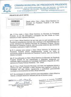 Profª Alba Lucena: P.L Diário Oficial Eletrônico