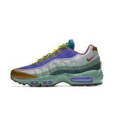 Nike Air Max 95 By You Custom Shoe Air Max 95, Nike Air Max, Nike Id Shoes, Air Max Sneakers, Sneakers Nike, Custom Shoes, Work Wear, Fashion, Nike Tennis