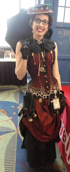 Steampunked Gail Carriger <3