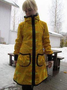 SK sadettakkikaava Softshell, Diy Clothing, Cloths, Sewing, Jackets, Crafts, Ideas, Fashion, Clothing
