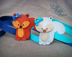 1000+ ideas about Animal Bows on Pinterest | No Sew Tutu, Clip On Ties and Ribbon Crafts