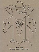 primitive stitchery patterns