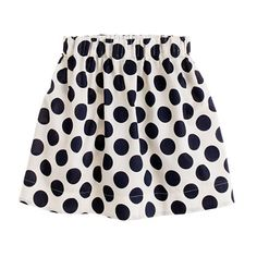 Shop the Girls' moon-dot twill skirt at J.Crew and see the entire selection of Girls' Skirts. Find Girls' clothing & accessories at J. Fashion Kids, Bubble Rock, Girls Skorts, Tween Mode, Bubble Skirt, Little Fashionista, Kind Mode, Kids Outfits, Shorts