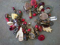 Maggie Zee love mojo charm bracelet by Maggie Zee, via Flickr