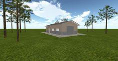 3D #architecture via @themuellerinc http://ift.tt/2sUoYUl #barn #workshop #greenhouse #garage #DIY