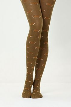 Foxy Tights. Oh my goodness, yes.