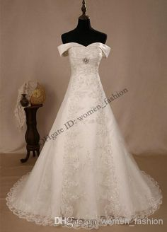 Cheap Wedding Dress - Discount Cap Sleeve 2014 New Fashion Beach Dress Bridal Online with $228.28/Piece | DHgate