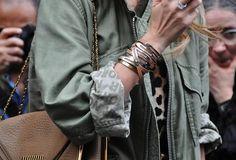 #howtowear modern military - khaki green #annalouoflondon #inspiration