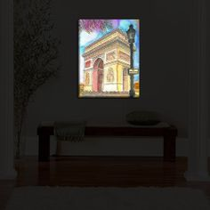 Illuminated Wall Art - Illuminated Wall Art Custom built to order in Denver, Co.Built with LED's lasting 50,000 hoursOn/Off switch embeddedRemovable UL Listed 12v DC cord includedWeight between 4-12 LBsFrame depth: 3.25 inchesDiaNoche donates a portion from each light sale to charity