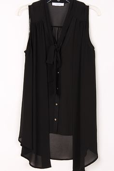 Black Silky Maggie Blouse #women #ladies #blouse #top #shirt #fashion