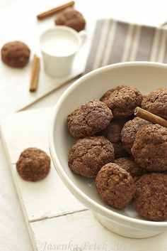 Chocolate Pumpkin Oatmeal Cookies