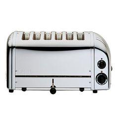 Dualit Vario 6 Slice Stainless Steel Toaster - 60144 cool kitchen accessories at kitchware homeware online store uk Breakfast Food List, Easy Healthy Breakfast, Easy Healthy Dinners, Breakfast For Kids, 6 Slice Toaster, Dualit Toaster, Kitchen Gadgets, Kitchen Appliances, Kitchen Stuff