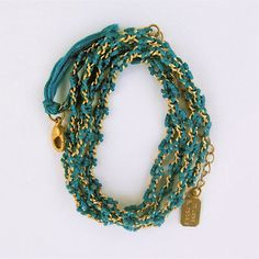 Cornflower Wrap Bracelet...by muses and rebels
