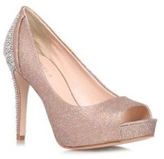 Shop for Bronze 'Juliette' high heeled courts by Carvela at ShopStyle. Bridesmaid Shoes, Bridesmaids, Carvela, Peep Toe, High Heels, Bronze, Pumps, Shopping, Fashion
