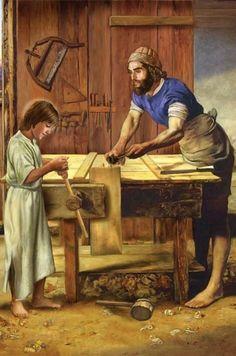 SAN JOSÉ Y JESÚS