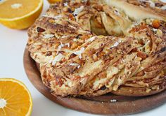 Yeasted Orange & Apricot Bread w Parmesan
