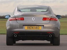 Renault Laguna Coupe UK-spec '2008–12