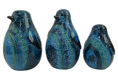 Raymor Rimini Blue Penguins, S/3 on OneKingsLane.com
