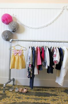 fcc8575ac Kids Clothes Rack DIY